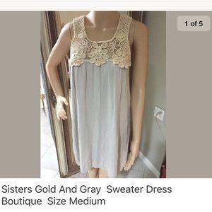 Sisters short sleeve cotton dress